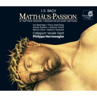Bach   Paixão segundo S. Mateus (3CD)