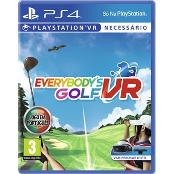 Everybody's Golf VR - PS4