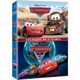 945257e85 Pack Carros 1 + 2 - Walt Disney - CARROS - Compra filmes e DVD na ...