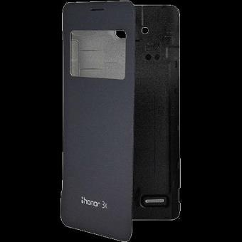 Huawei Capa Flip Smart para Huawei G750 (Preto)