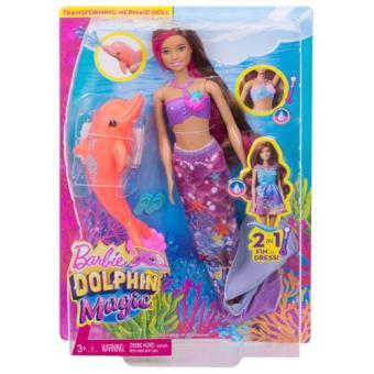 Barbie Sereia com Golfinho - Mattel