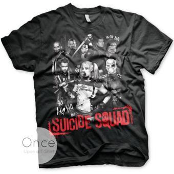 Suicide Squad - T-Shirt Personagens (M)