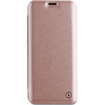 Capa Flip Muvit para Galaxy S9+ - Rose Gold