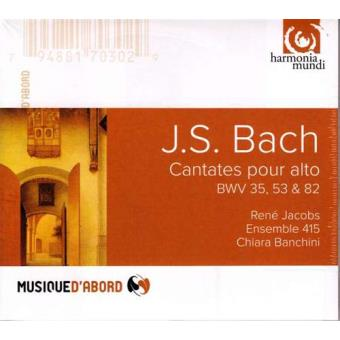 Bach | Cantatas BWV 35, 53, 82