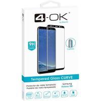 Película Ecrã Vidro Temperado 4-OK Glass CURVE 9H para Samsung Galaxy S8+