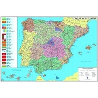 mapa de portugal espanha michelin Mapa Michelin Plastificado   Espanha e Portugal   Vários   Compre  mapa de portugal espanha michelin