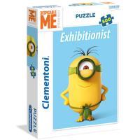 Puzzle Exhibitionist Minions - 500 Peças - Clementoni