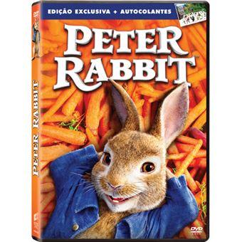 Peter Rabbit + Autocolantes - Edição Exclusiva Fnac - DVD