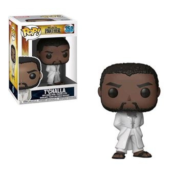 Funko Pop! Black Panther: T'Challa Robe (White) - 352
