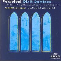 Pergolesi   Dixit Dominus & Salve Regina in A minor