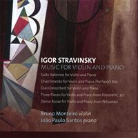 Stravinsky: Works for Violin and Piano - CD