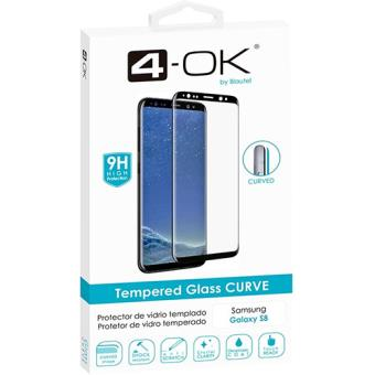 Película Ecrã Vidro Temperado 4-OK Glass CURVE 9H para Galaxy S8