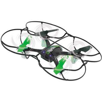 Drone Jamara MotionFly G-Sensor Compass Turbo Flip - Preto   Verde