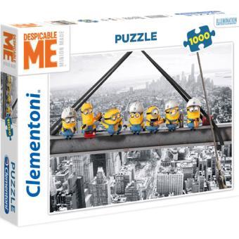Puzzle Minions Skyscraper - 1000 Peças - Clementoni