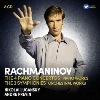 Rachmaninov: The Four Piano Concertos, Piano Works, Three Symphonies and Orchestral Works (8CD)
