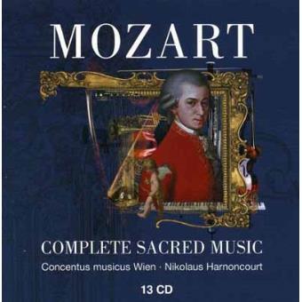 Mozart-complete Sacred Music (13cd)