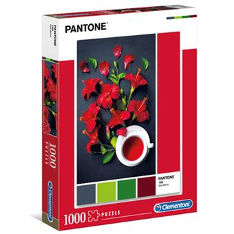 Puzzle Pantone 3 - 1000 Peças - Clementoni