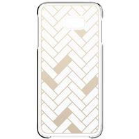 Capa Samsung Flip para Galaxy J4+ - Padrão | Dourado