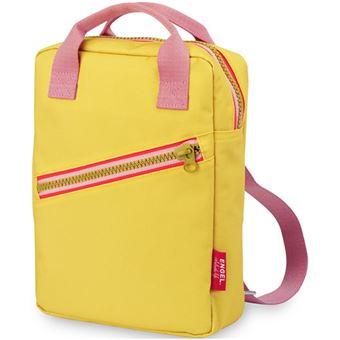 Mochila Pequena Engel Zipper - Amarelo