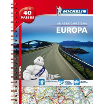 Europa Atlas Rodoviário Michelin