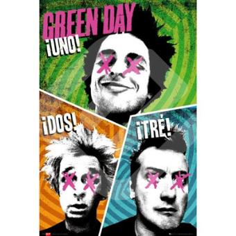 Poster Green Day Trio