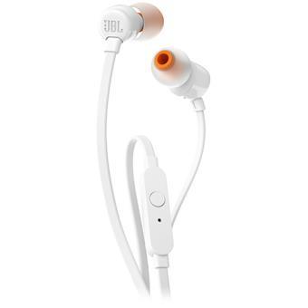 Auriculares JBL T110 - Branco
