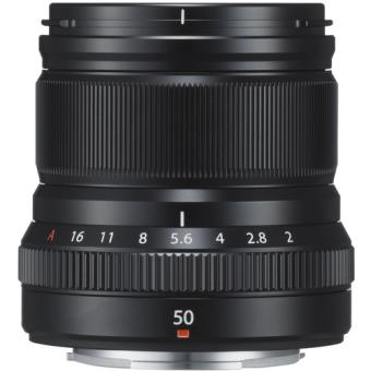 Objetiva Fujifilm FUJINON XF 50mm f/2 R WR - Preto