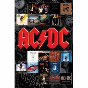 Poster AC/DC covers