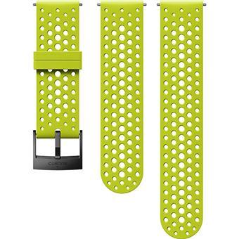 Bracelete Suunto Athletic 1 S+M - 24mm - Lime Black