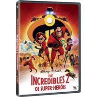 The Incredibles 2: Os Super-Heróis - DVD