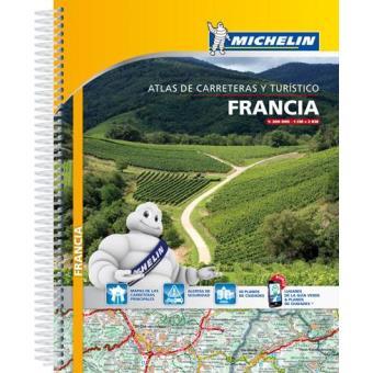 França Atlas Rodoviário e Turístico Michelin