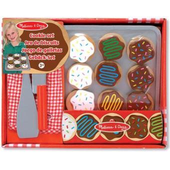 Wooden Cookie Set