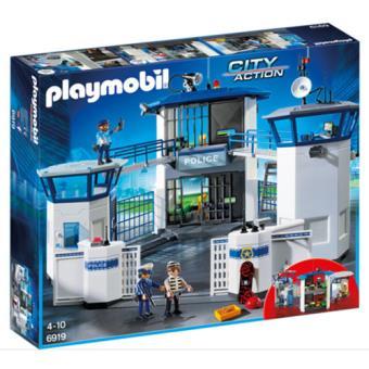 Playmobil City Action 6919 Esquadra da Polícia com Prisão
