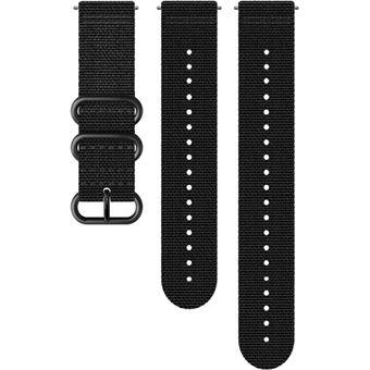 Bracelete Têxtil Suunto Explore 2 M+L - 24mm - Black Black