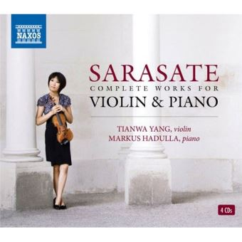 Sarasate: Complete Works for Violin and Piano - CD