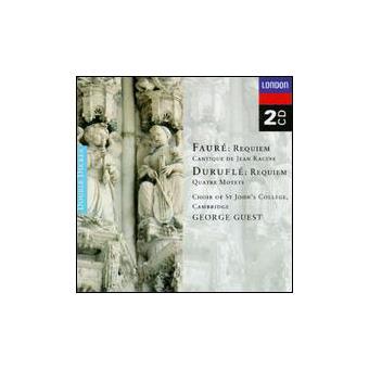 Fauré, Duruflé & Poulenc   Requiem
