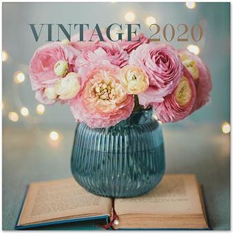 Calendário 2020 Vintage