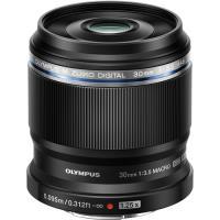 Objetiva Olympus M.Zuiko Digital ED 30mm f/3.5 Macro - Preto