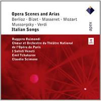 Opera Scenes & Arias: Italian Songs