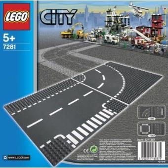 Entroncamento e Curva (LEGO Bricks & More 7281)
