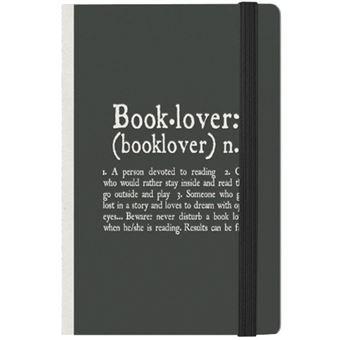 Caderno Pautado Photo - Booklover Bolso