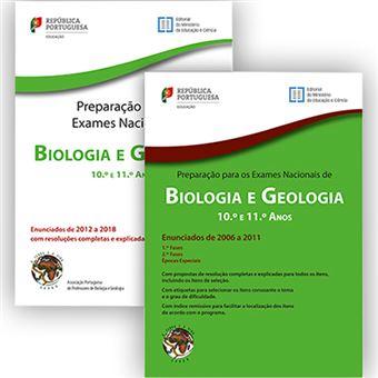 Pack de Preparação para Exames Nacionais - Biologia e Geologia - 10º e 11º Anos