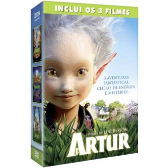 Box Artur 1 2 3 Luc Besson Compra Filmes E Dvd Na Fnac Pt