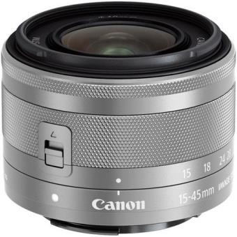 Canon Objetiva EF-M 15-45mm f/3.5-6.3 IS STM (Silver)