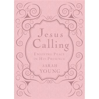 Jesus calling - deluxe edition pink