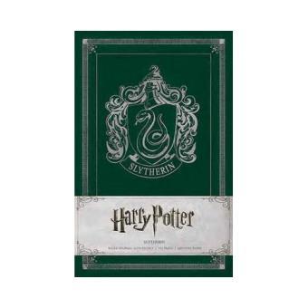 Caderno Pautado Harry Potter - Slytherin A5