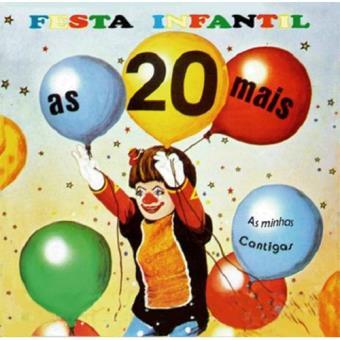As 20 Mais da Festa Infantil - CD