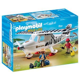 Playmobil WildLife 6938 Avioneta de Safari