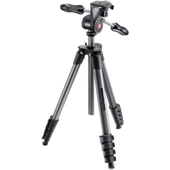 Manfrotto Tripé Compact Advanced 3-Way Head