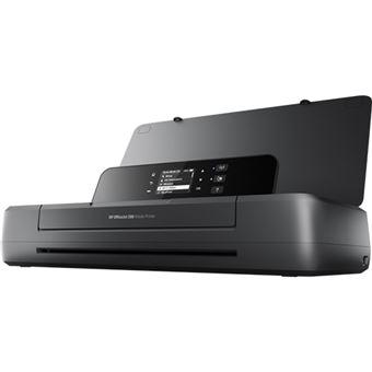 HP Officejet 200 Mobile Cor 4800 x 1200DPI A4 Wi-Fi Preto impressora a jato de tinta